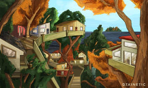 Treehouse Island by DTKinetic