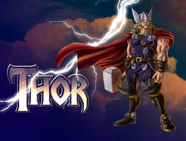 Thor by andretapol