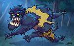 Hombre Lobo by andretapol