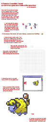 Pokemon Cross Stitch Tutorial by ladygekko