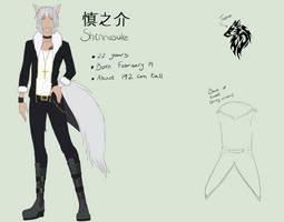 :: UTAU Reference ::  Shinnosuke by PeachUnit