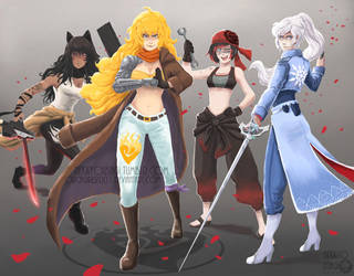 RWBY - This Will Be The Day by Orcagirl2001
