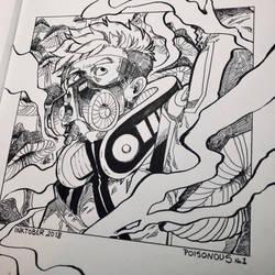 Inktober 2018 - Day 1 by Orcagirl2001