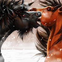 Fall of the First Stallion by Orcagirl2001