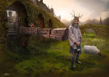 Djizary Traveler by Zilverbergelf