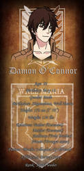 Damon O'Connor Info by WhisperDreams