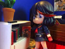 Ryuko Reads Manga by Gairon