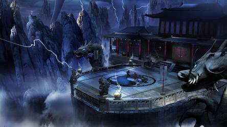 Lin Kuei Temple by ElainaVoorhees