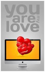 Valentine's day wallpaper by Tyzyano