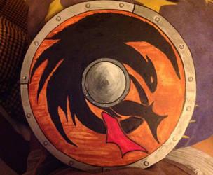 Toothless shield by Kurysu
