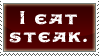 Steak Stamp by InfiniteIterations