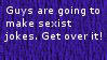 Sexist Jokes by crimsonsaphire