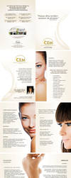 Folder Estetica Clinica CEM by wolmyson