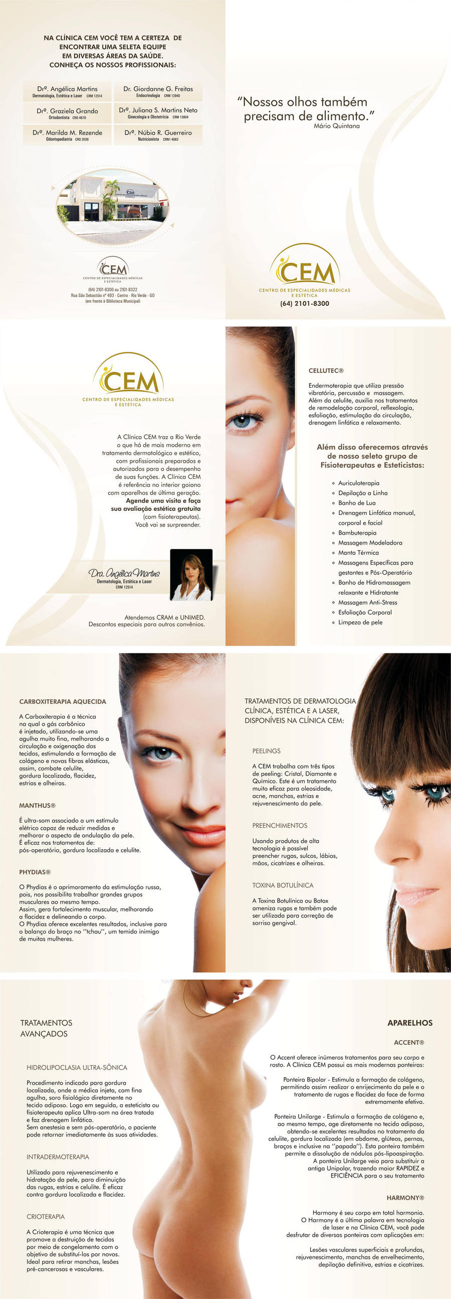 Folder Estetica Clinica CEM by wolmyson