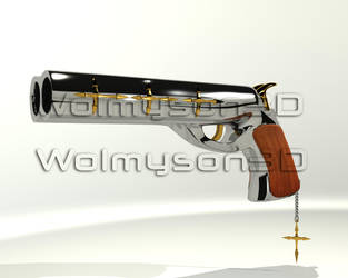 Fire Gun by wolmyson
