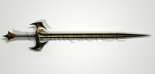 Sword 3D by wolmyson
