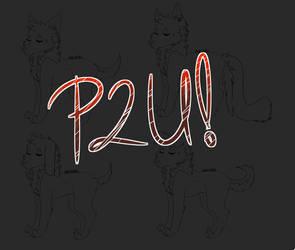 P2U Wolf/doggo base by Adrizzzle