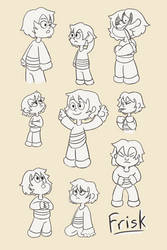 Undertale: Frisk + Steven Universe = Fun! by Charlemage