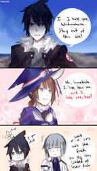 Wadanohara and the Tsundere Loser by batensan