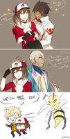 Pokemon Go Team Leaders by batensan