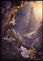 PARADISE OF BABYLON by saritaangel07