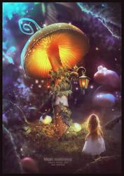 MAGIC MUSHROOMS by saritaangel07