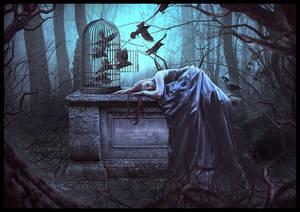 Dreaming to be free by saritaangel07