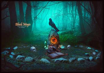 BLACK MAGIC by saritaangel07
