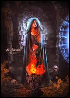 The sorceress by saritaangel07