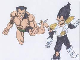 Dragon Ball Z vs. Marvel 5 by derekwc