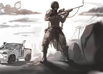 Apocalypse WIP by Suriael