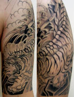 My Japanese sleeve by buddhic