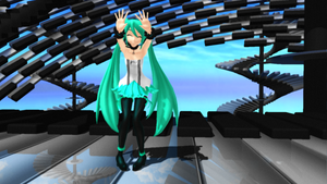 -MMD- WAVEFILE Miku + DL by MariMariD