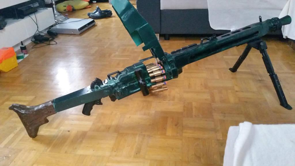 Nerf Vulcan / MG42 mod pic3 by FSC-Powerforce