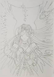 Belldandy -Oh! My Goddess- by SaM-bluefunnybear