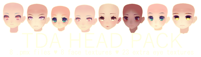 TDA HEAD PACK DL by kreifish
