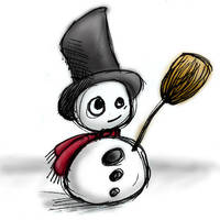 snowman by amarie600