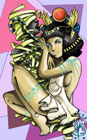 Spirit of the Mummy by TheLadyJ