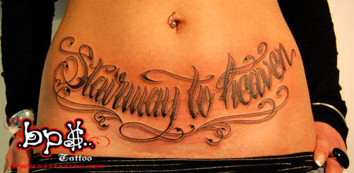 staiway to heaven by BPS-TATTOO