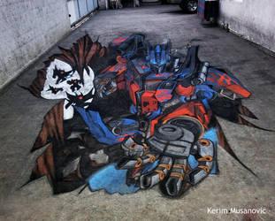 ''Optimus Prime''  Sarajevo, 2012 by Kerim-Musanovic