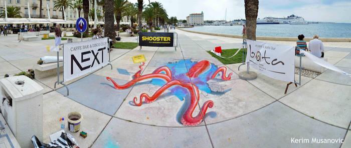 ''Welcome to Split!'' Croatia, Split, 2015 by Kerim-Musanovic
