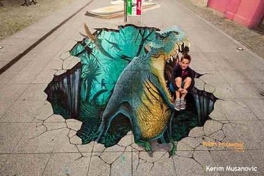 ''T-Rex'' Wilhelmshaven, Germany, 2015 by Kerim-Musanovic