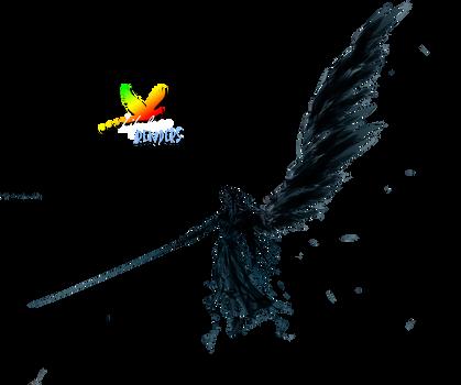 Sephiroth Render by L-Renders