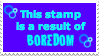 Boredom Stamp by grovyle-n-wolfluvr