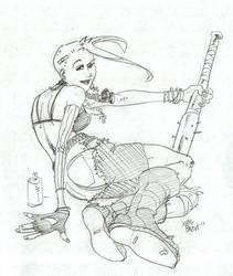 Tank Girl by xaqBazit