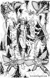 Outcast Angels - Three Warrioirs by xaqBazit