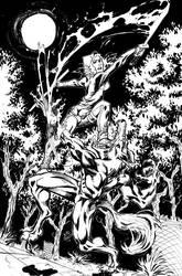 First Comics Pinup by xaqBazit