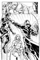 Robyn Hood: Wanted #5 pg. 22 sample by xaqBazit