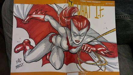 Batwoman Cover by xaqBazit