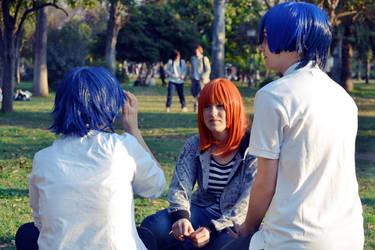 Tokiya, Haruka and Masato by TheBlestSlumbergold